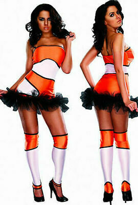 Rubies 19161 Clownfish Naughty Nemo Halloween Costume Women Cosplay Facy Dress