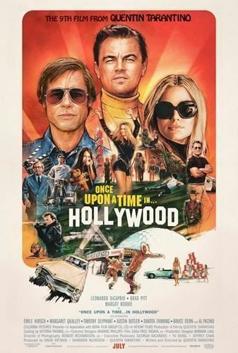 Once Upon A Time In Hollywood Movie Poster 24 X 36