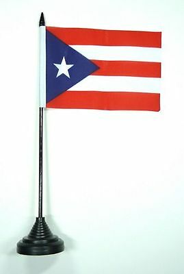 Fahne / Tischflagge Puerto Rico NEU 11 x 16 cm Flaggen
