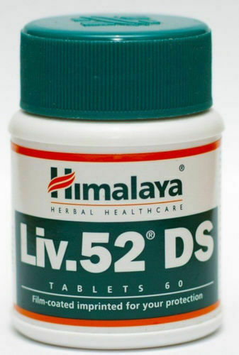 1 pack Himalaya Liv 52 DS  60 tablets each Liver Health SHIPPED FROM U.S.A.