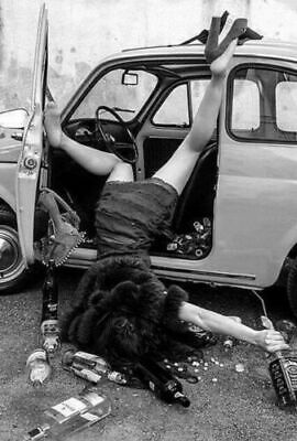 Vintage Sunday Morning Photo 964b Odd Strange & Bizarre