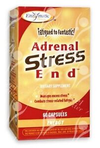 Adrenal Stress End x60caps;- For Adrenal Fatigue - CFS