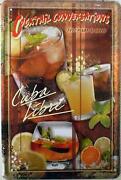Blechschild Cocktail