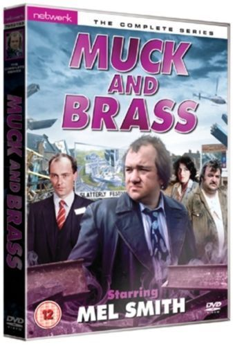 MUCK AND BRASS the complete series. Mel Smith. 2 discs. New sealed DVD.