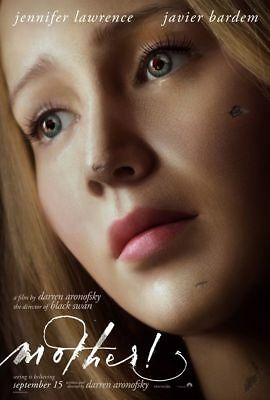 Mother - original DS movie poster - 27x40 D/S Advance Jennifer Lawrence, Bardem for sale  USA