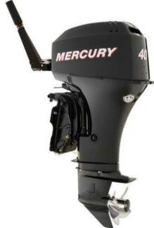 Mercury 40HP 4 Stroke Outboard Electric Start Power Tilt Tiller
