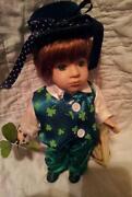 St Patricks Day Doll