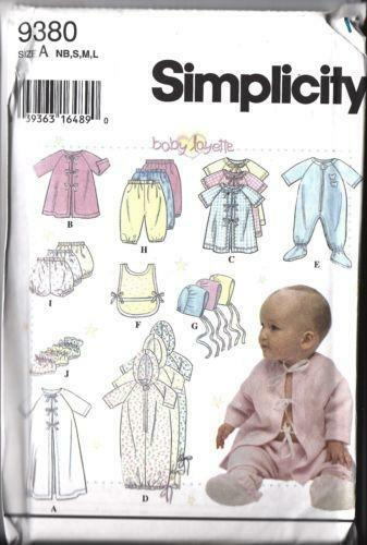 Vintage Baby Sewing Patterns Ebay