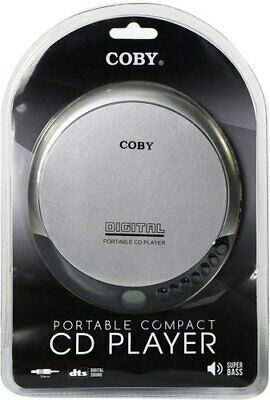 Coby CD-190-SLV Portable Compact CD Player