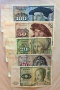 DM Geldscheine