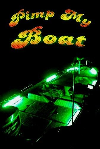 PIMP MY Boat Green LED Boat Lighting Kit DIY with Red & Green Navigation lights