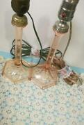 Depression Glass Lamp