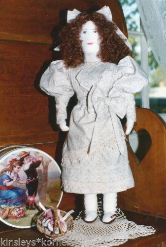 Primitive Cloth Doll Patterns Ebay