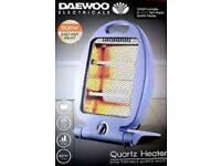 Daewoo 800w Quartz Heater 10+ Available