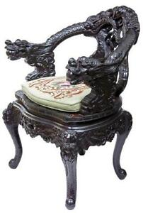 Chinese Carved Chairs