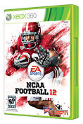 NCAA Football 12 Xbox 360 New