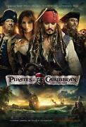 Pirates of The Caribbean on Stranger Tides Blu Ray