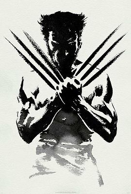 Wolverine X Men Classic Movie Large CANVAS Art Print A0 A1 A2 A3 A4