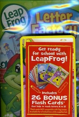 Leap Frog: Letter Factory  Flashcards