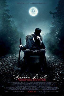Abraham Lincoln Vampire Hunter Movie Poster 24x36](Vampire Abraham Lincoln Hunter)