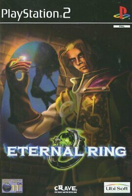 Sony Playstation 2 - Eternal Ring - Game  33VG The Cheap Fast Free Post