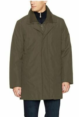 Kenneth Cole New York Men's Radford 2-in-1 Raincoat Top Coat Olive XL Clothing, Shoes & Accessories