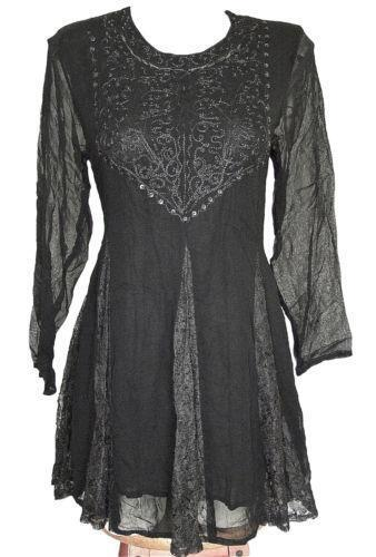 Embroidered rayon dress ebay