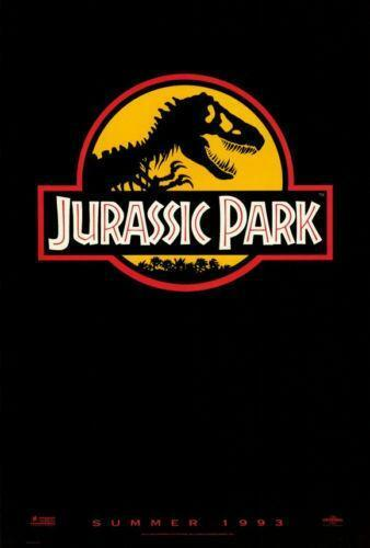 jurassic park poster ebay. Black Bedroom Furniture Sets. Home Design Ideas