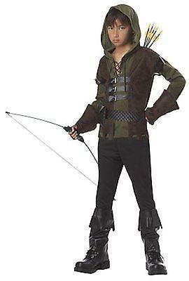 Childrens Robin Hood Fairy Tails Fantasy Movie Halloween Costume M-Xl -