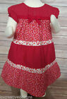 Red 18-24 Months Size Dresses (Newborn - 5T) for Girls