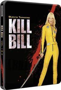 BRAND NEW Kill Bill Volume 1 & 2 Limited Edition Blu-Ray Steelbook