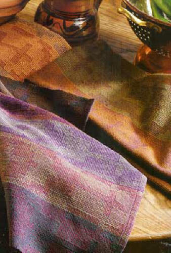 Handwoven magazine mar/apr 2002: rugs; towels ~ Special 4-shaft Issue ~ last one