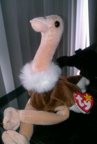 Ostrich Beanie Baby Ebay