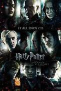 Harry Potter Deathly Hallows Poster