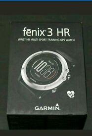 New Garmin Fenix 3 HR - Wrist HR for sale