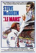 Steve McQueen LeMans Poster