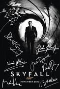 Daniel Craig Signed