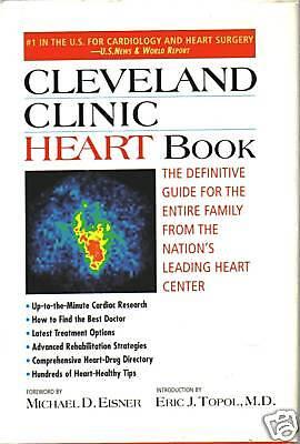 Cleveland Clinic Heart Book By Michael D  Eisner