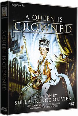 A QUEEN IS CROWNED. Elizabeth II. New sealed DVD.