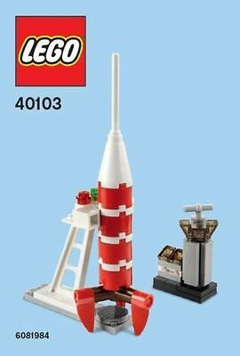 Constructibles Rocket Mini Model Lego  Parts   Instructions Kit 40103