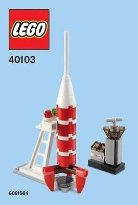 Constructibles Rocket Mini Model LEGO® Parts & Instructions