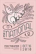 The National Concert Poster