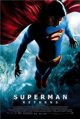 "Brandon Routh Superman Returns Movie Star ART POSTER 36x24""inches 03"