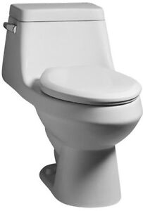 American Standard 2862.056 Fairfield One-Piece Elongated Toilet with Left