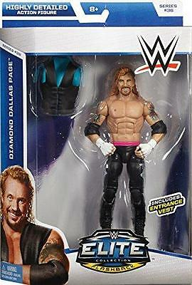 DIAMOND DALLAS PAGE WWE MATTEL ELITE SERIES 36 ACTION FIGURE TOY - MINT