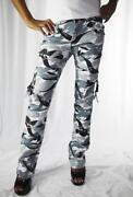 Womens Camo Cargo Pants
