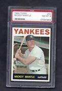 Mickey Mantle Card Topps 1964