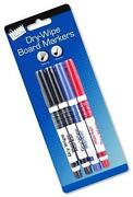 Black Whiteboard Markers