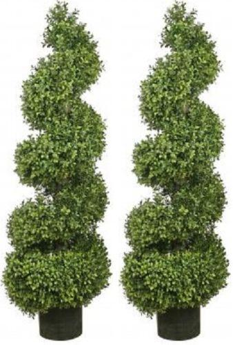 artificial boxwood topiary trees ebay. Black Bedroom Furniture Sets. Home Design Ideas