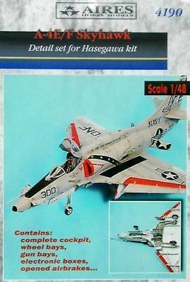 Aires 1/48 A-4E/F Skyhawk Detail Set for Hasegawa kit 4190*